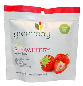 Greenday Crispy Strawberry – 36 bags (12 grams)
