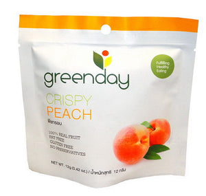 Greenday Crispy Peach – 36 bags (12 grams)
