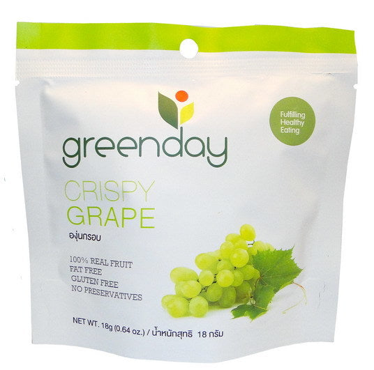 Greenday Crispy Grape – 36 bags (18 grams)