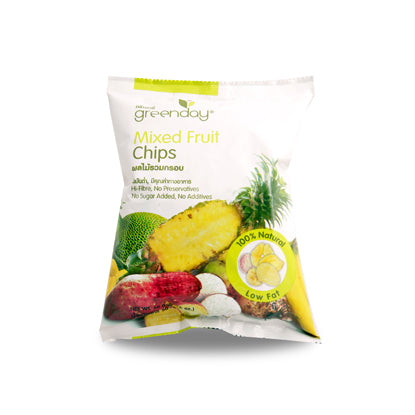 Greenday Mixed Fruit Chips – 12 bags (55 grams)