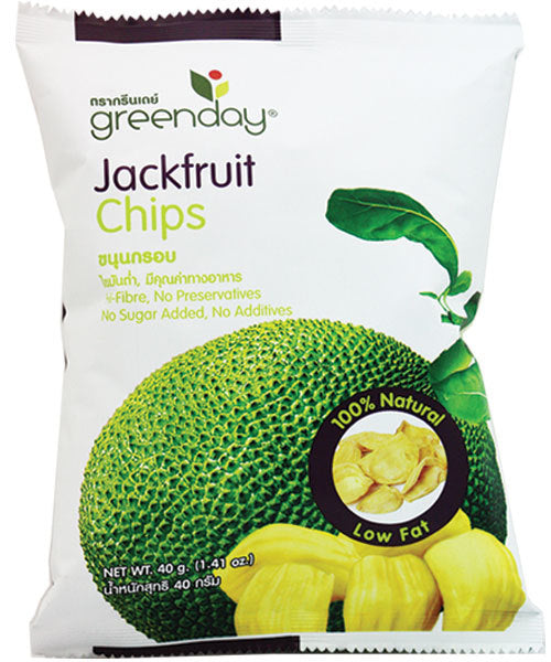 Greenday Jackfruit Chips – 12 bags (40 grams)
