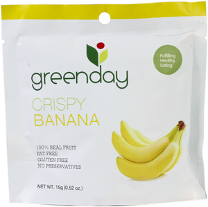 Greenday Crispy Banana – 36 bags (15 grams)