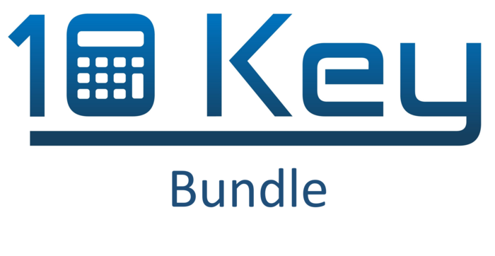 10 Key Calculator Software & 10-key keypad bundle - Digital 10 key calculator
