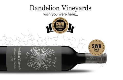 Dandelion Vineyards, New World Producer of the Year, SWA