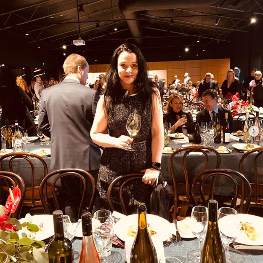 Elena at Barossa Wine Show 2019