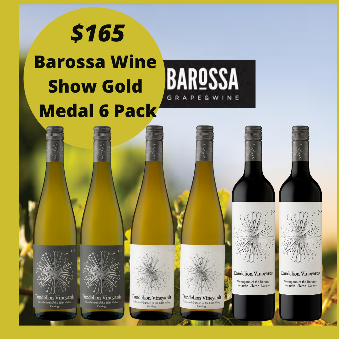 2020 BAROSSA WINE SHOW GOLD MEDAL 6 PACK