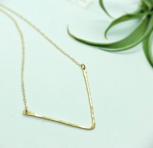 "Classic 1.5"" Chevron Necklace"