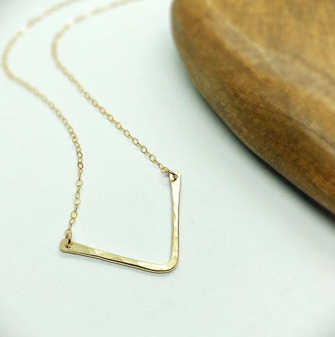 "Classic 1"" Chevron Necklace"