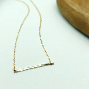 "Classic 1.5"" Bar Necklace"