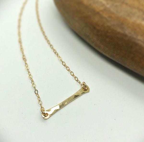 "Classic 1"" Bar Necklace"
