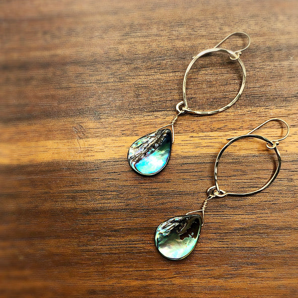 Beach Babe Mini Hoop Earrings
