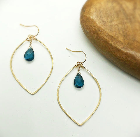 Baby Lotus London Blue Hoops