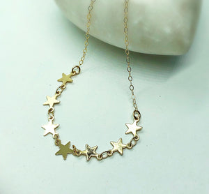 Starry Night Necklace or Choker