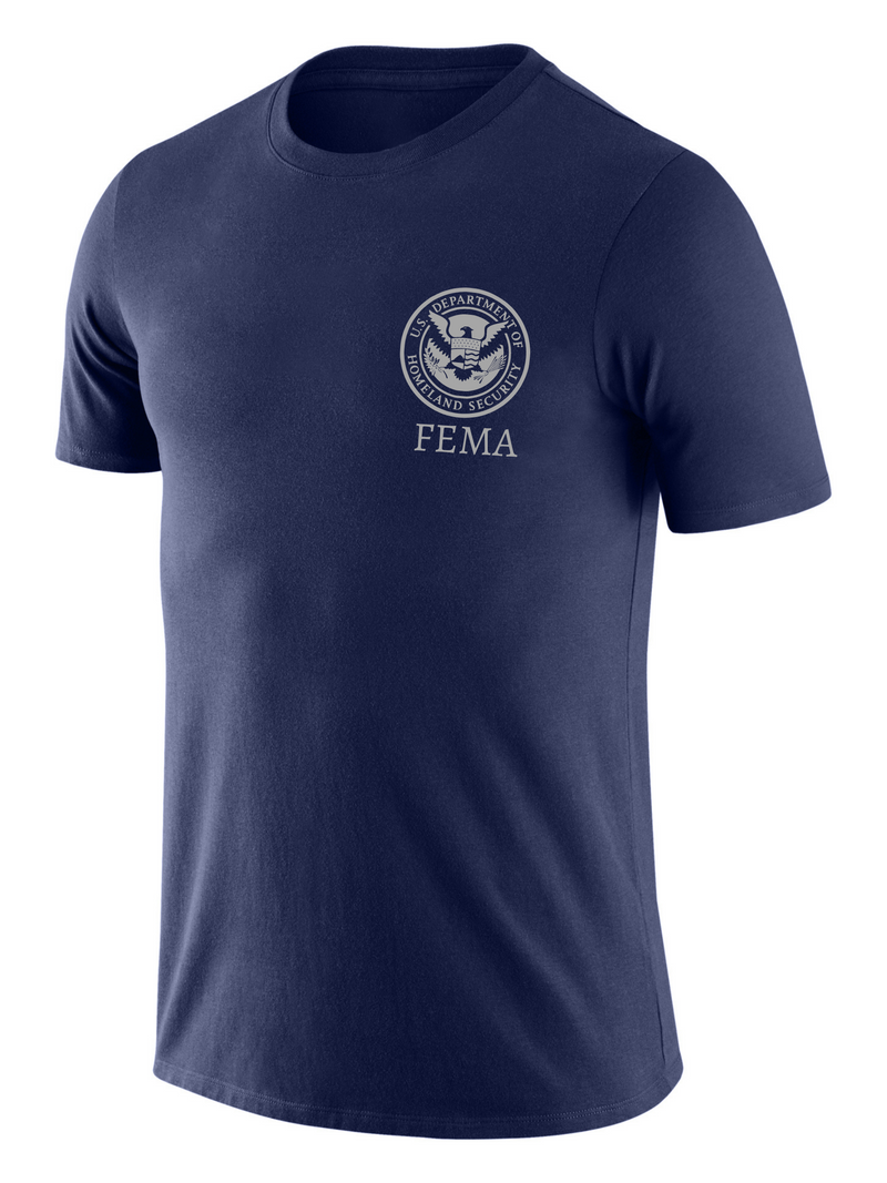 SUBDUED DHS FEMA Agency Identifier T Shirt - Short Sleeve - FEDS Apparel