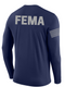 SUBDUED FEMA Agency Identifier T Shirt - Long Sleeve - FEDS Apparel