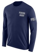 SUBDUED Federal Agent Identifier T Shirt - Long Sleeve - FEDS Apparel