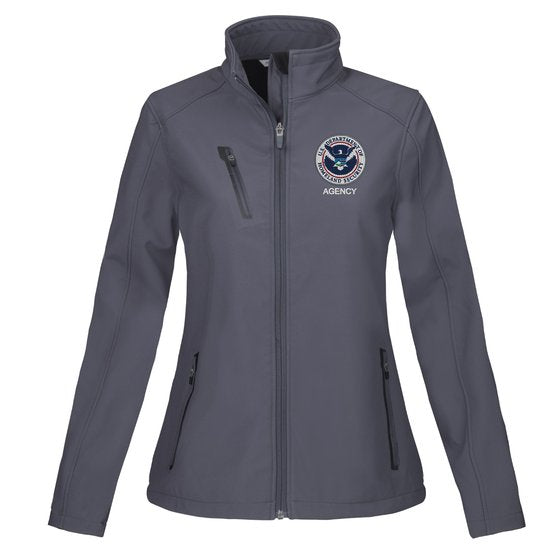 Homeland Security - Tactical Women's Soft Shell Jacket - FEDS Apparel