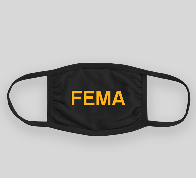 FEMA - Agency Face Mask - FEDS Apparel