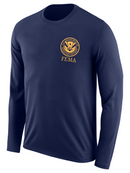 DHS FEMA Agency Identifier T Shirt - Long Sleeve - FEDS Apparel