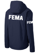 FEMA Agency Identifier Jacket - Rain Coat - FEDS Apparel