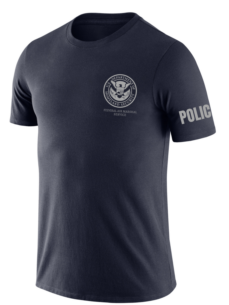 SUBDUED DHS FAMS Agency Identifier T Shirt - Short Sleeve - FEDS Apparel