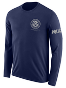 SUBDUED DHS FAMS Agency Identifier T Shirt - Long Sleeve - FEDS Apparel