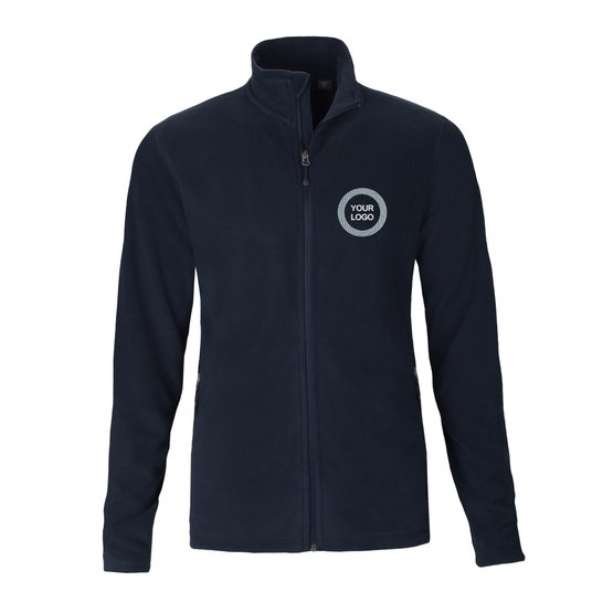 Men's Full-Zip Microfleece Jacket - FEDS Apparel
