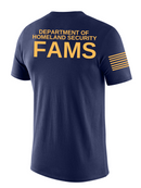 DHS FAMS Agency Identifier T Shirt - Short Sleeve - FEDS Apparel