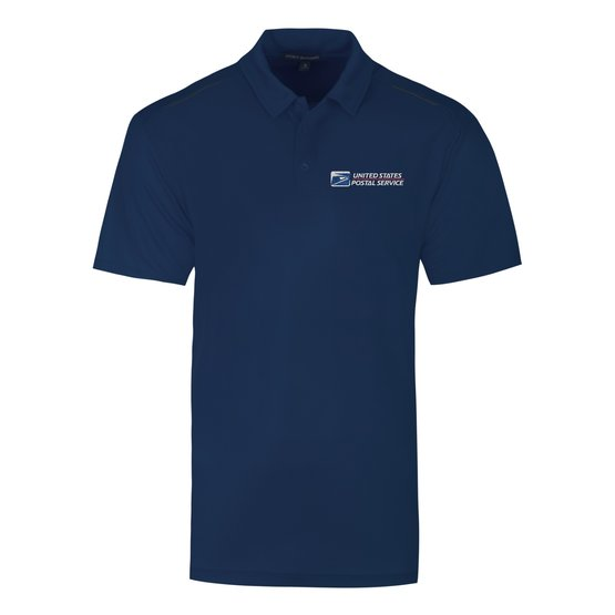 Dri Fit Postal Service Polo Shirt - Men's Short Sleeve - FEDS Apparel