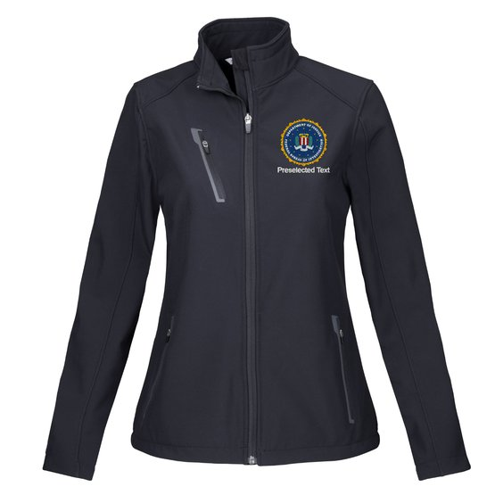 Federal Bureau of Investigation - Tactical Women's Soft Shell Jacket - FEDS Apparel