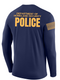 DHS POLICE Agency Identifier T Shirt - Long Sleeve - FEDS Apparel