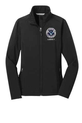 Homeland Security Women's Soft Shell Jacket - FEDS Apparel