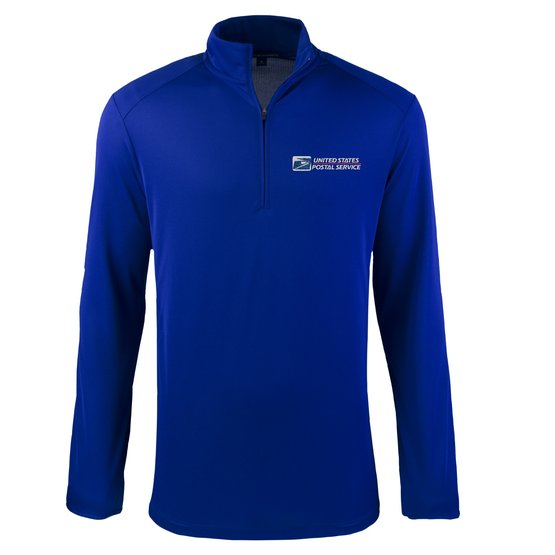Postal Service 1/4 Zip Men's Dri Fit - FEDS Apparel