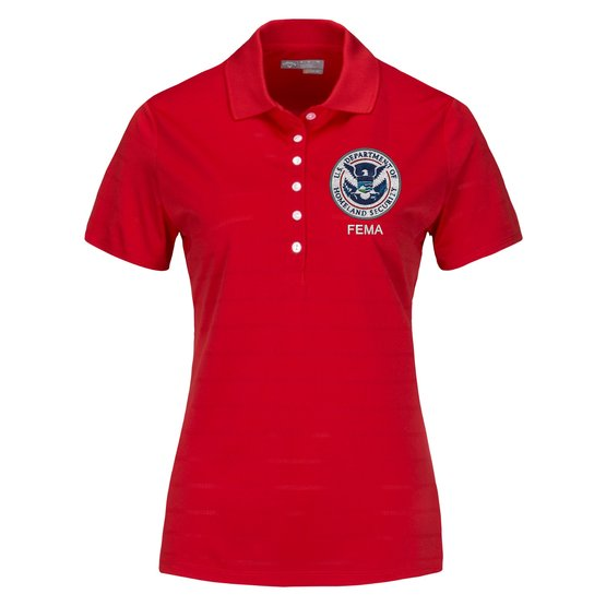FEMA Polo Shirt - Women's Short Sleeve - FEDS Apparel