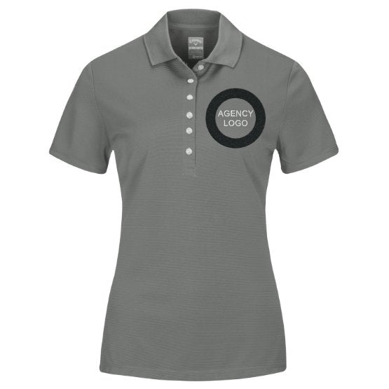 Women's Short Sleeve Agency Polo - FEDS Apparel