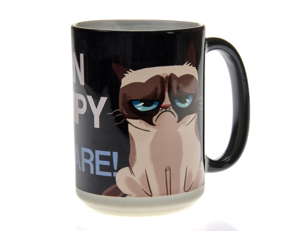 Born Grumpy Don't Care Magic Mug