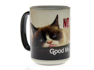 Good Morning No Such Thing Grumpy Cat Magic Mug