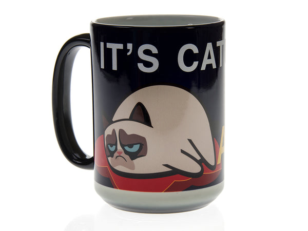 It's Caturday Grumpy Cat Magic Mug