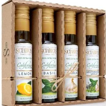 4x100ML COLD PRESSED 100% VIRGIN OLIVE OIL