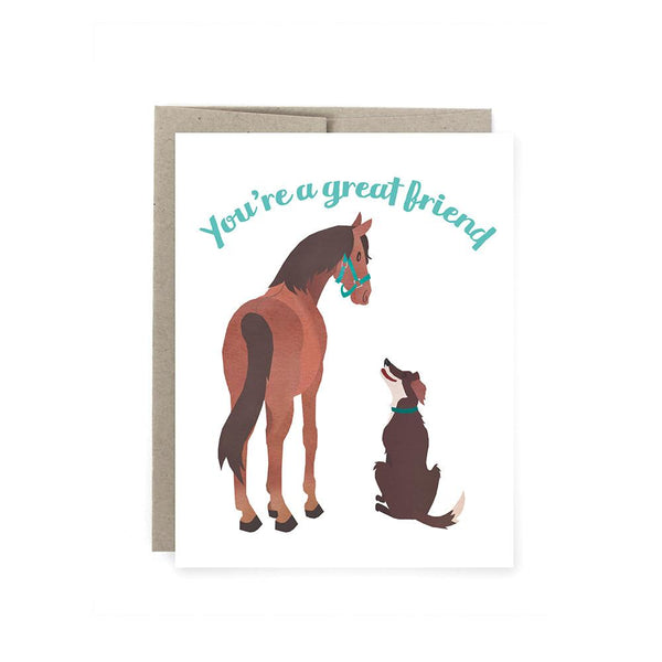 Great Friend Card