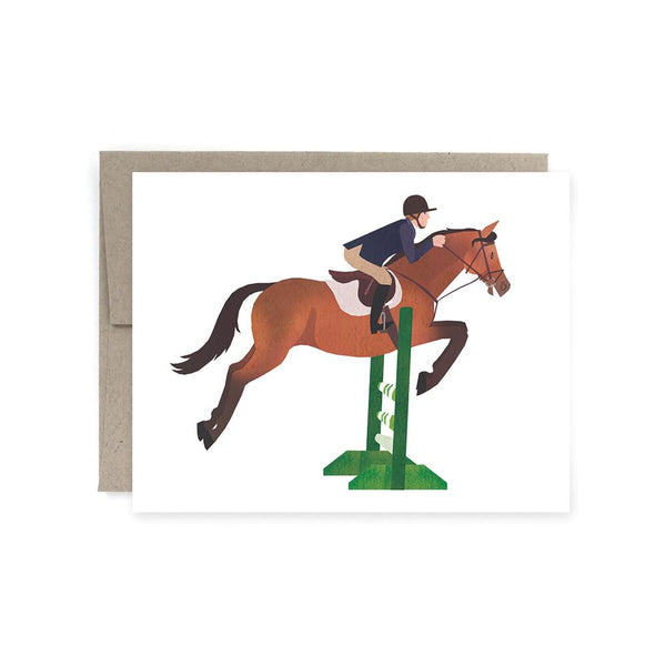 Hunter Jumper Card