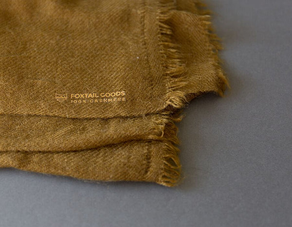 Foxtail Goods - Cashmere Scarf - Olive