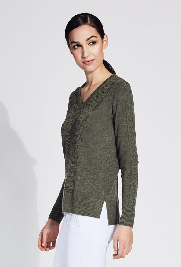 Grace V- Neck Cashmere Sweater