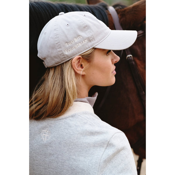 TWO BITS EQUESTRIAN HAT
