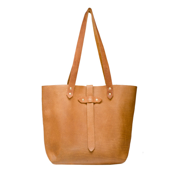 Margaret Vera - Large Leather Tote