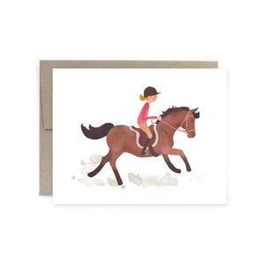 Pony Canter Card