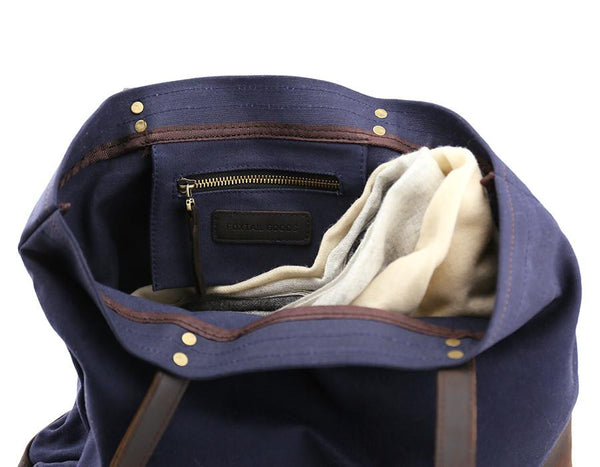 Foxtail Goods - Market Tote Bag - Navy