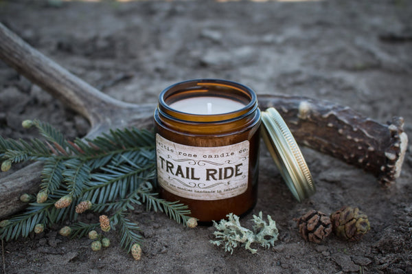Trail Ride Candle