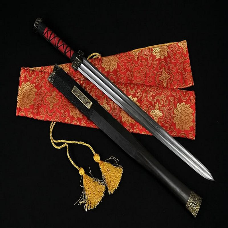 Hand Forged Jian Chinese Dynasty Sword 1024 Layers Folded Steel