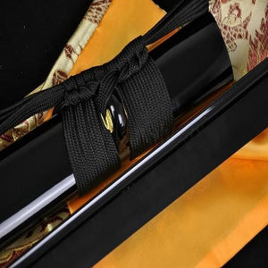 Handmade Japanese Samurai Sword Ninja Full Black